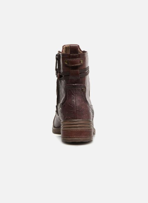 Stiefeletten & Boots Mustang shoes Lola weinrot ansicht von rechts