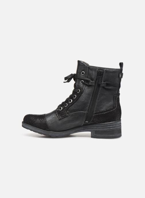 Bottines et boots Mustang shoes Lola Noir vue face