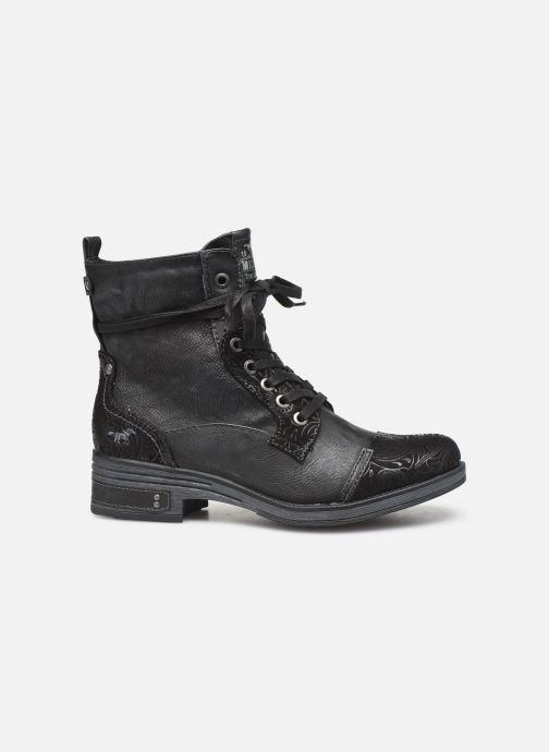 Bottines et boots Mustang shoes Lola Noir vue derrière