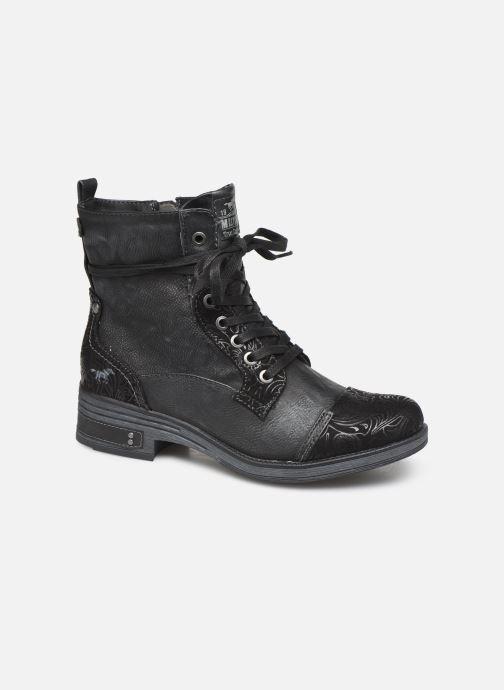 Bottines et boots Mustang shoes Lola Noir vue détail/paire