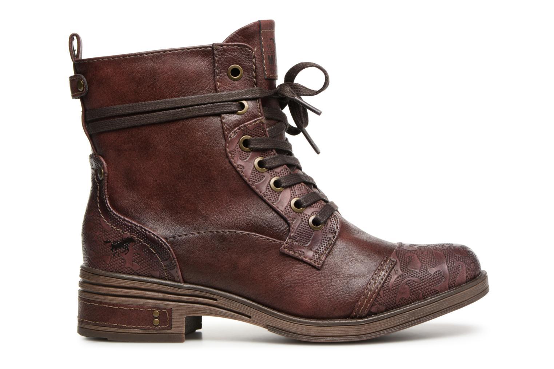 Bottines et boots Mustang shoes Lola Bordeaux vue derrière