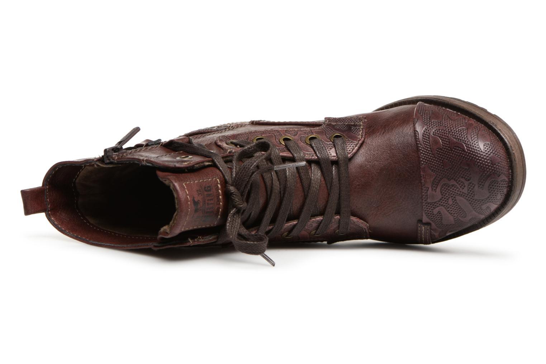 Bottines et boots Mustang shoes Lola Bordeaux vue gauche
