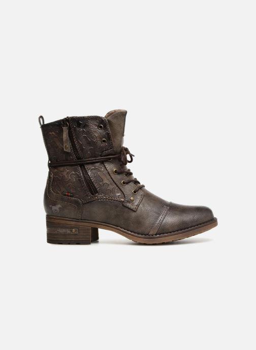 Bottines et boots Mustang shoes Karin Marron vue derrière