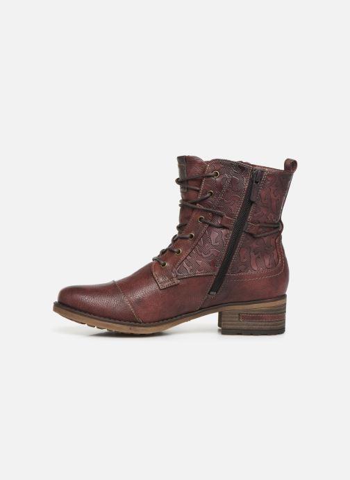 Bottines et boots Mustang shoes Karin Bordeaux vue face