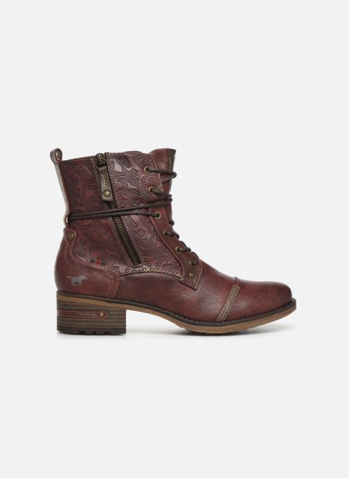 Bottines et boots Mustang shoes Karin Bordeaux vue derrière