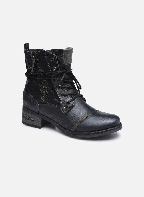 Boots en enkellaarsjes Mustang shoes Karin Zwart detail