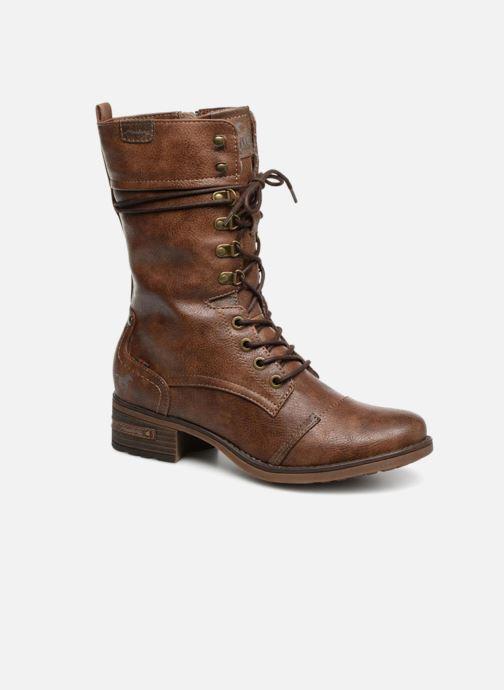 Bottes Mustang shoes Jena Marron vue détail/paire