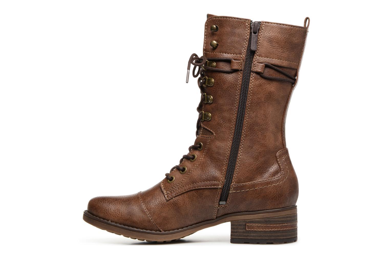 Bottes Mustang shoes Jena Marron vue face