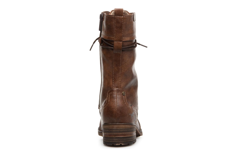 Bottes Mustang shoes Jena Marron vue droite