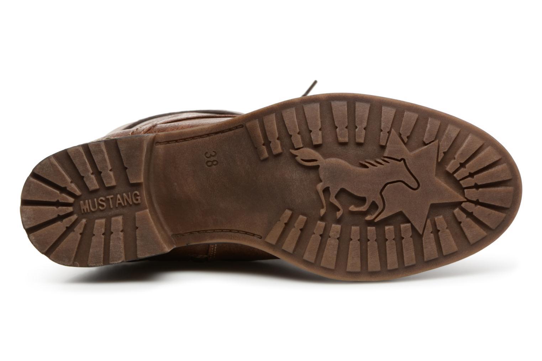 Bottes Mustang shoes Jena Marron vue haut