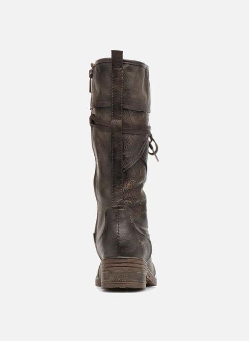 Bottes Mustang shoes Aglae Marron vue droite