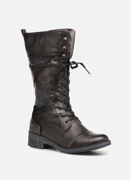 Bottes Mustang shoes Aglae Marron vue détail/paire
