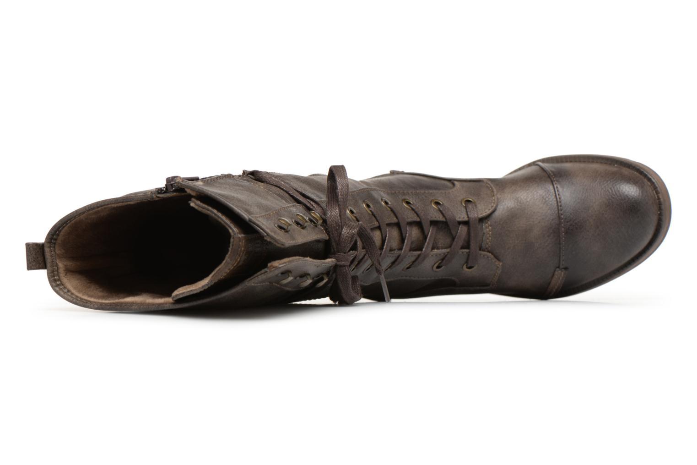 Bottes Mustang shoes Aglae Marron vue gauche