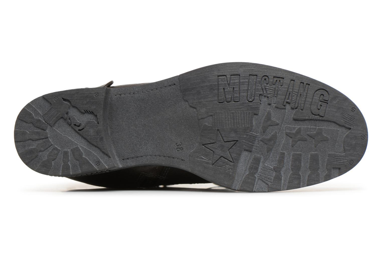 Bottes Mustang shoes Aglae Marron vue haut