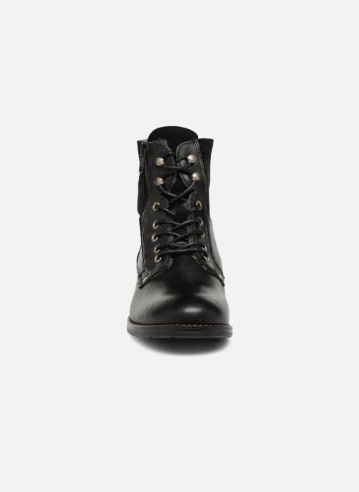 Stiefeletten & Boots Mustang shoes Carmen schwarz schuhe getragen