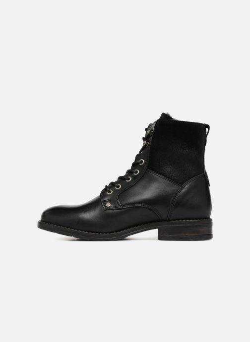 Stiefeletten & Boots Mustang shoes Carmen schwarz ansicht von vorne