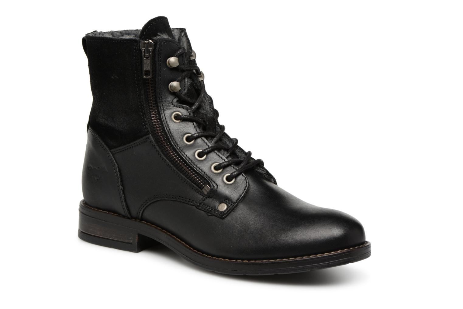 Mustang Ankle shoes Carmen (Black) - Ankle Mustang boots chez (345090) 26d821