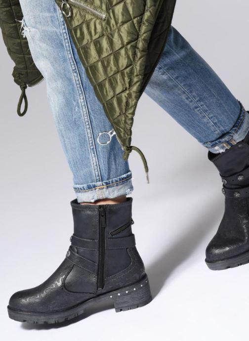 Boots en enkellaarsjes Mustang shoes Kloe Blauw onder