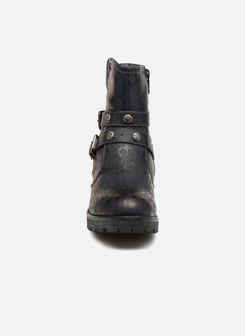 Boots en enkellaarsjes Mustang shoes Kloe Blauw model