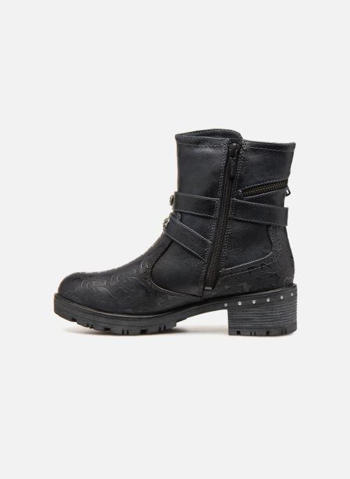 Boots en enkellaarsjes Mustang shoes Kloe Blauw voorkant