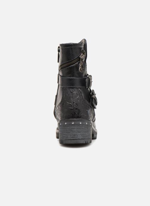 Boots en enkellaarsjes Mustang shoes Kloe Blauw rechts