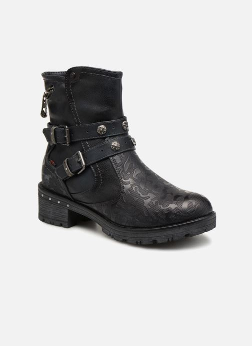Boots en enkellaarsjes Mustang shoes Kloe Blauw detail