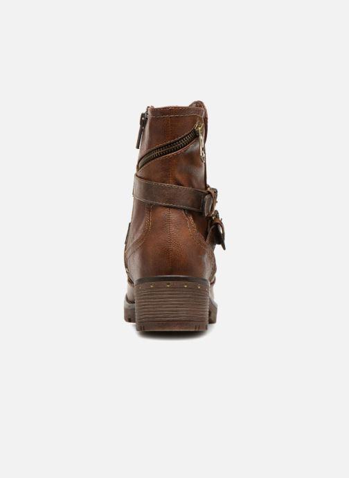 Bottines et boots Mustang shoes Kourtney Marron vue droite