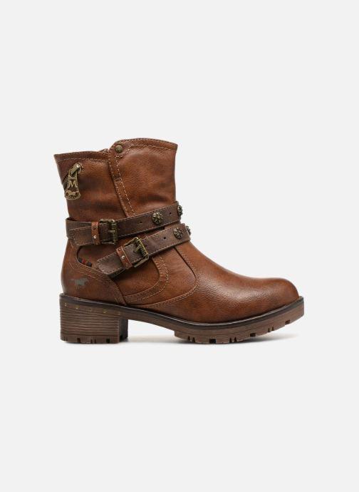 Bottines et boots Mustang shoes Kourtney Marron vue derrière