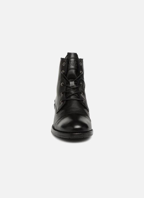 Bottines et boots Mustang shoes Liza Noir vue portées chaussures