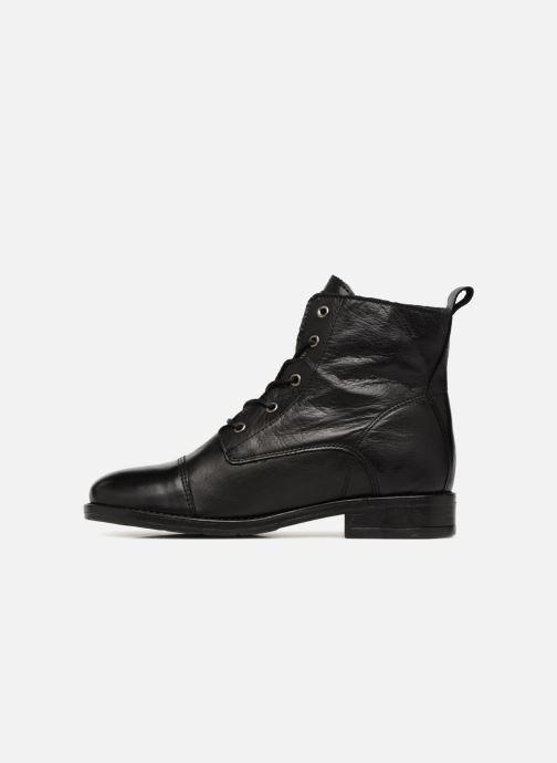 Bottines et boots Mustang shoes Liza Noir vue face