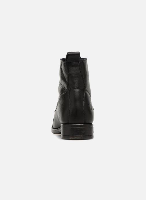 Bottines et boots Mustang shoes Liza Noir vue droite