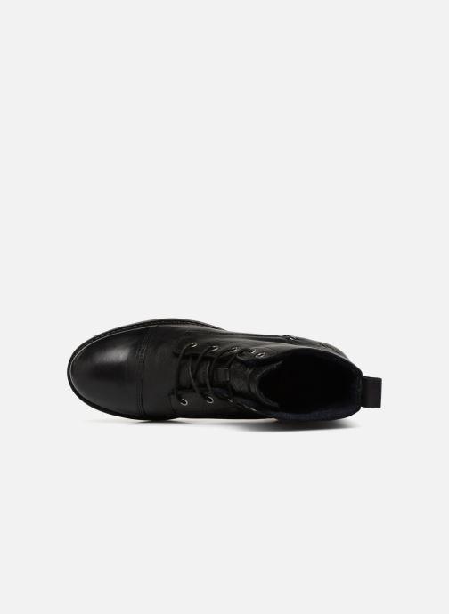 Bottines et boots Mustang shoes Liza Noir vue gauche