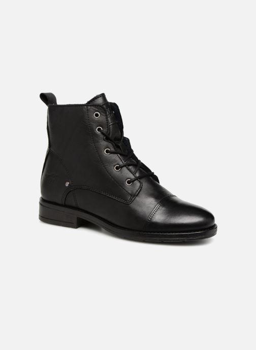 Bottines et boots Mustang shoes Liza Noir vue détail/paire