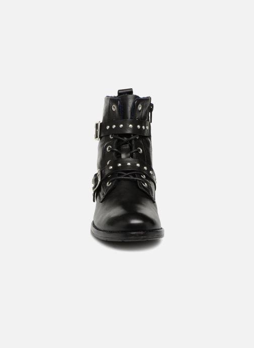 Britney Boots Noir Et Bottines Mustang Shoes EYIW29HD