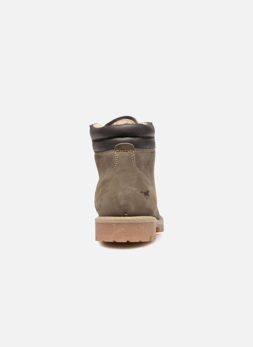 Bottines et boots Mustang shoes Michele Vert vue droite