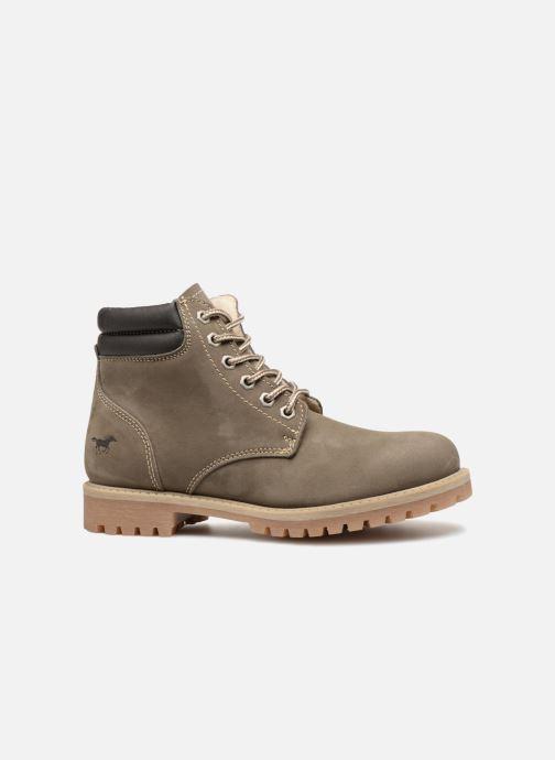 Bottines et boots Mustang shoes Michele Vert vue derrière