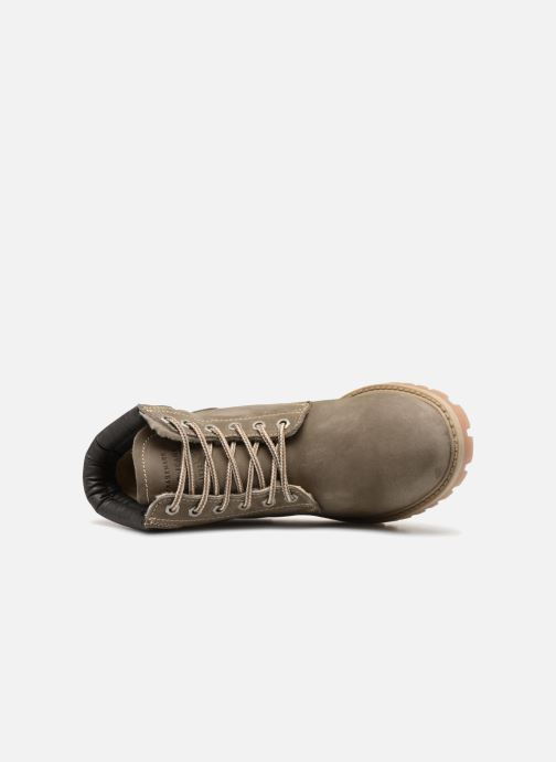 Bottines et boots Mustang shoes Michele Vert vue gauche