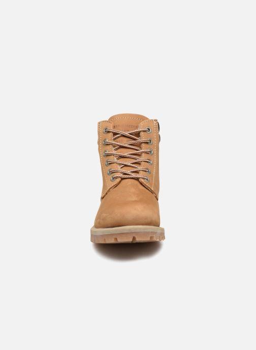 Bottines et boots Mustang shoes Michele Marron vue portées chaussures