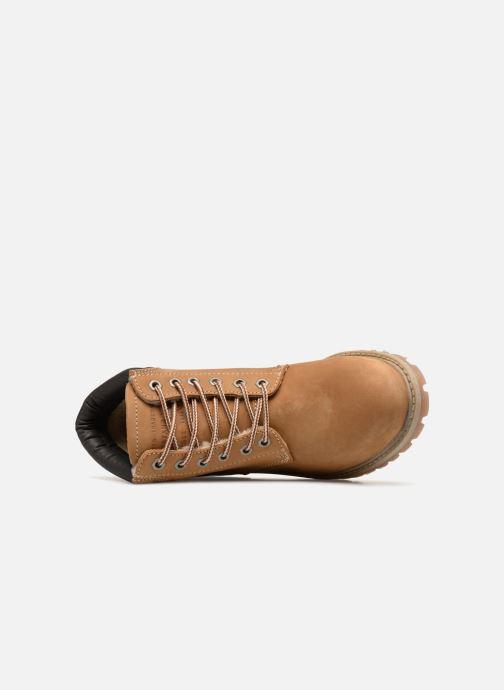 Bottines et boots Mustang shoes Michele Marron vue gauche