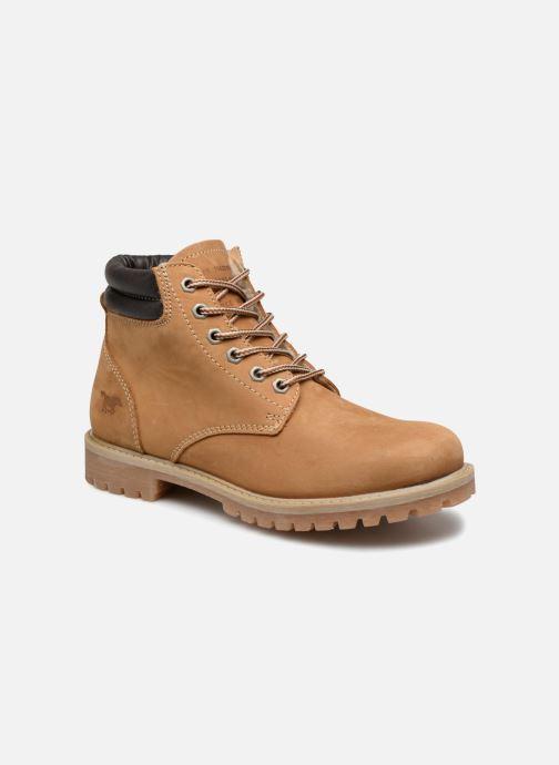 Bottines et boots Mustang shoes Michele Marron vue détail/paire