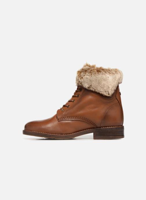 Boots en enkellaarsjes Mustang shoes Sofie Bruin voorkant