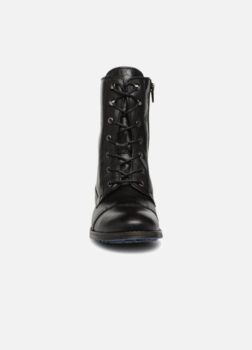 Bottines et boots Mustang shoes Ming Noir vue portées chaussures