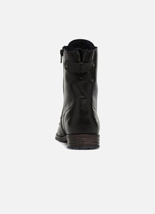 Bottines et boots Mustang shoes Ming Noir vue droite