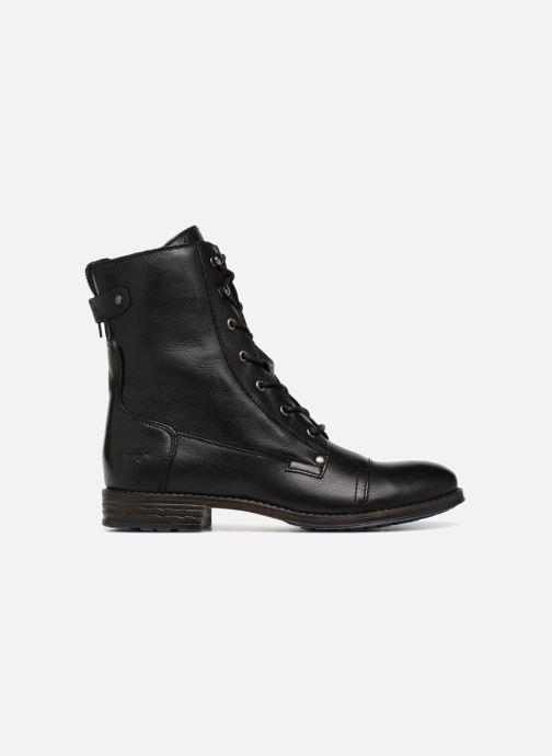 Bottines et boots Mustang shoes Ming Noir vue derrière