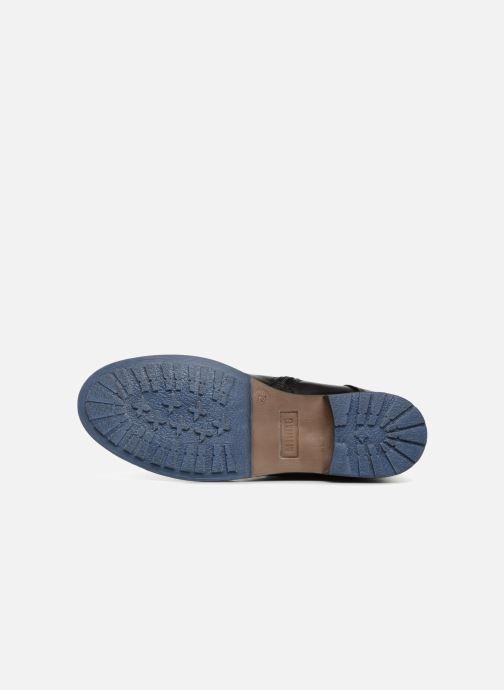 Bottines et boots Mustang shoes Ming Noir vue haut