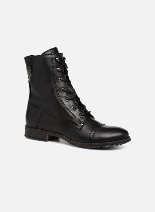 Bottines et boots Mustang shoes Ming Noir vue détail/paire