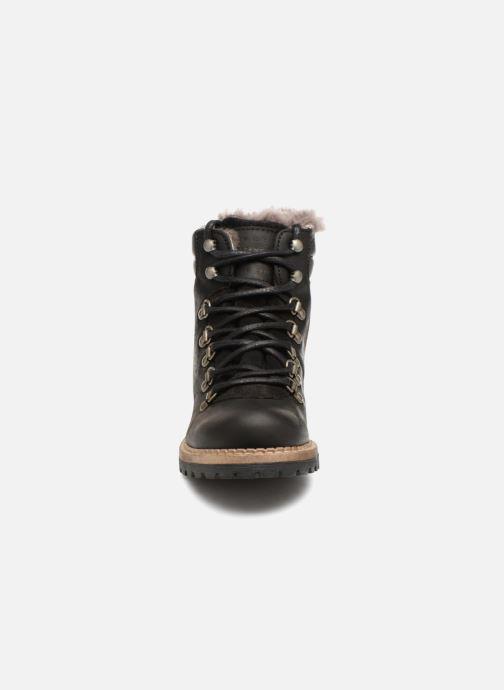Mustang Shoes Melania Noir Et Bottines Boots Nwv0ym8nO