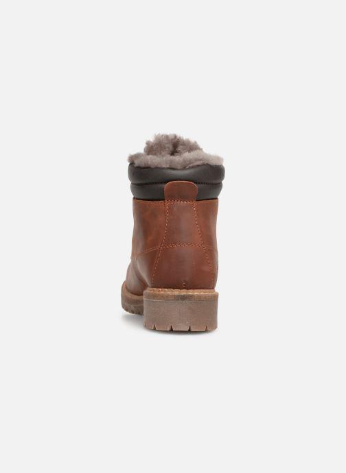 Bottines et boots Mustang shoes Melania Marron vue droite