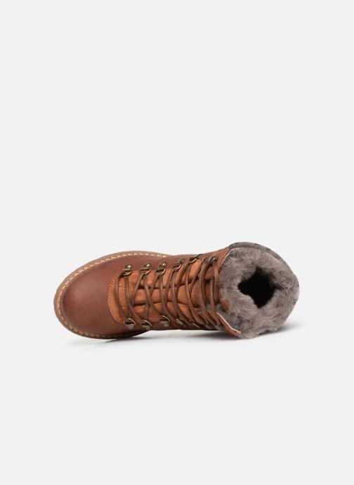 Stiefeletten & Boots Mustang shoes Melania braun ansicht von links