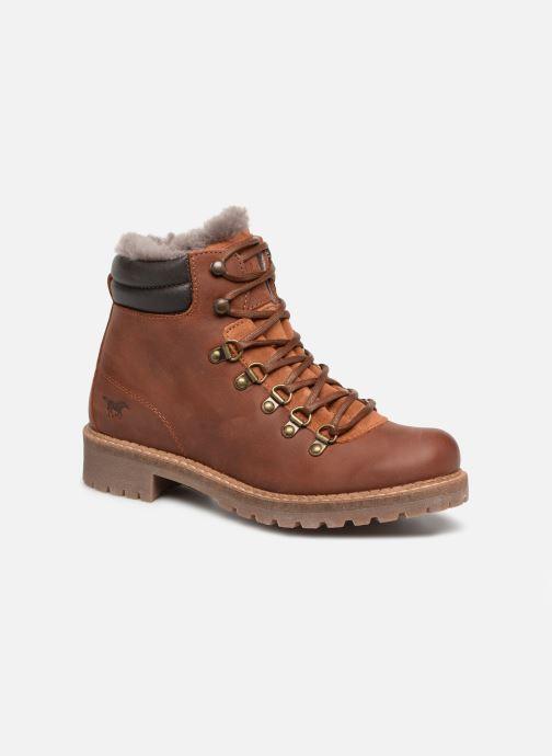 Bottines et boots Mustang shoes Melania Marron vue détail/paire